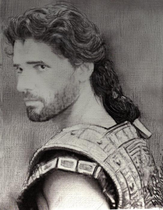 Eric Bana por IAMPORTRAITARTIST
